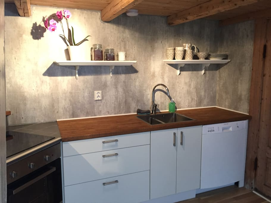 good space for cooking