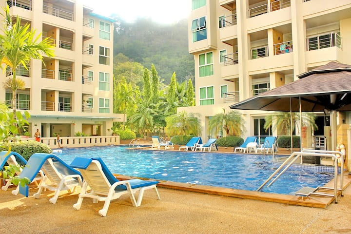 Family friendly Patong Beach Apartment A303