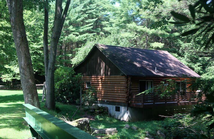 Coleman Creek Cabin, Cook Forest - Barnett Township - Blockhütte