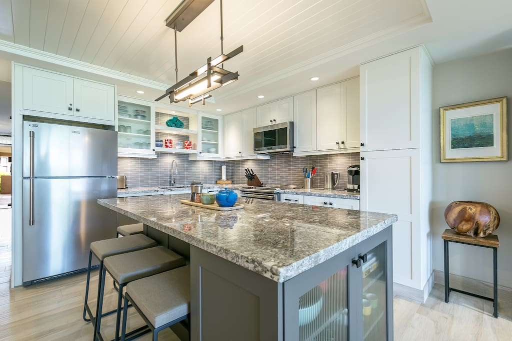 Designer Kitchen That Is Extremely Well Equipped