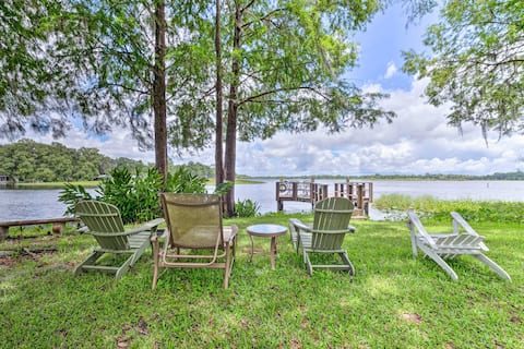 Lakefront Home w/ Dock - 7 Miles to Downtown!