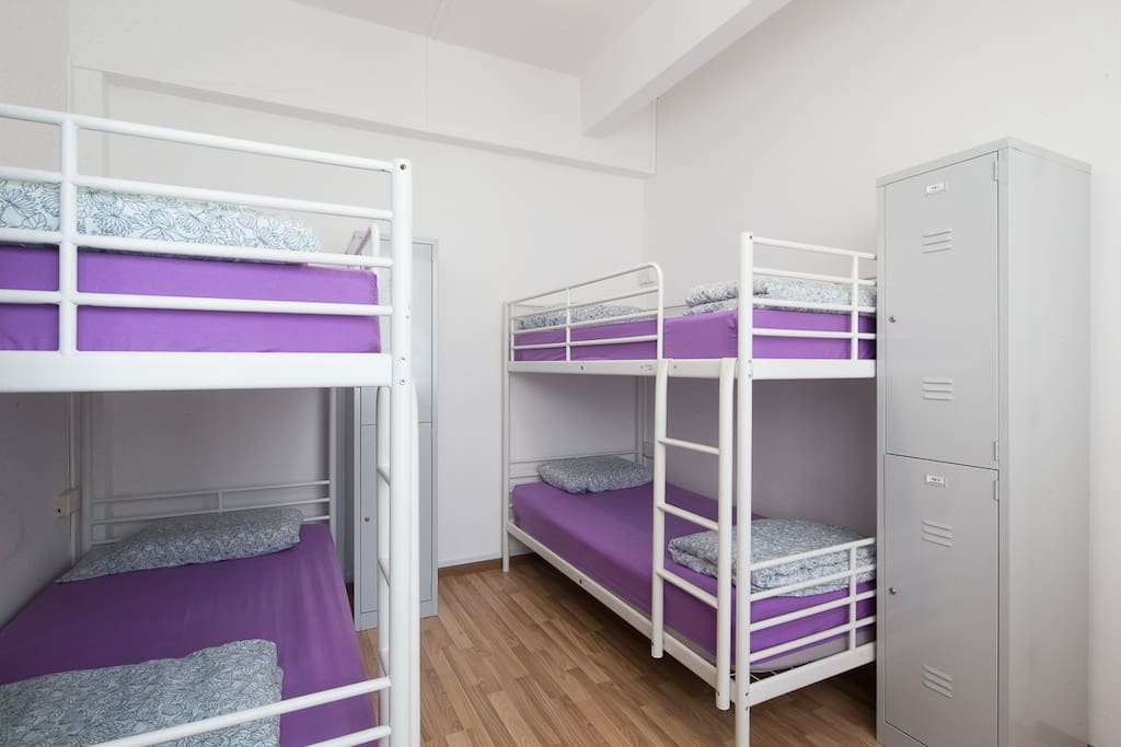 Our Shared Mixed Dormitory Room (4 Bedded)