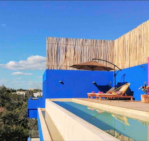 Tulum Mexico Private Jungle Studio Pool Yoga Wifi