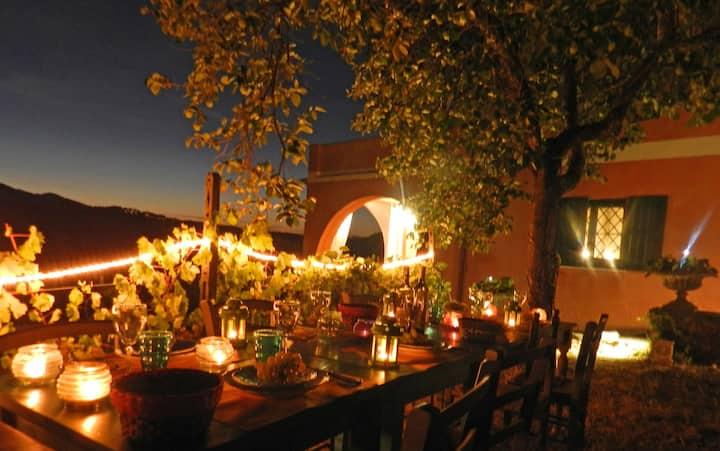 Villa Maddalena: 5 Terre e Vino