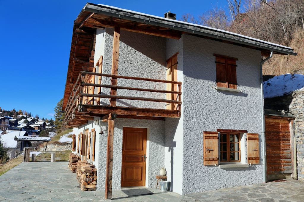 View of the chalet