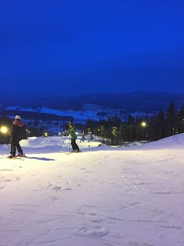 Alene/2/3 venner - 40 min fra Oslo - Hakadal - Rekkehus