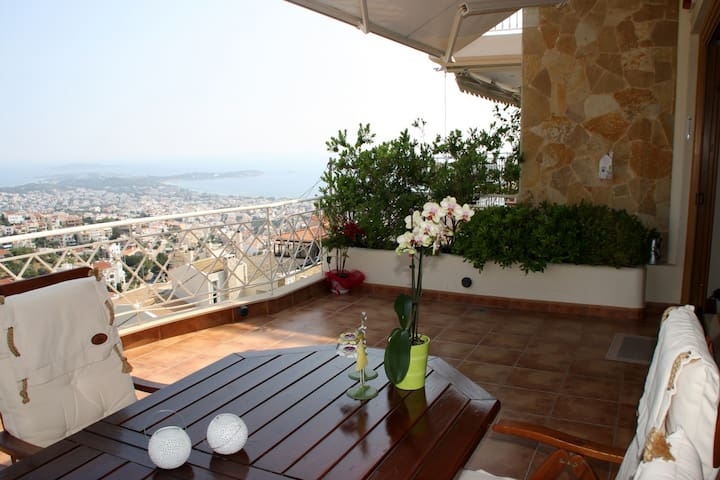 Floor maisonette in  Panorama of Voula (125948) - Voula - House