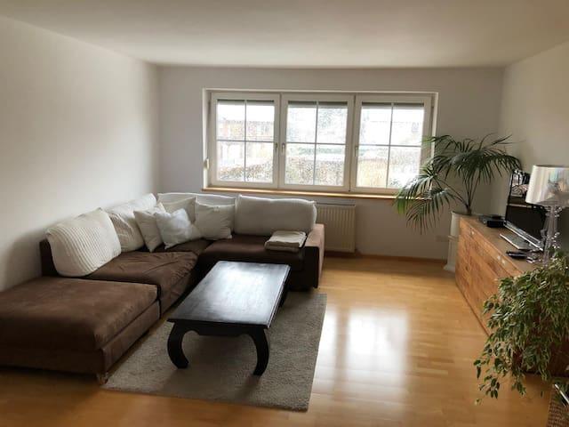 Idyllisch gelegene Wohnung im Grünen