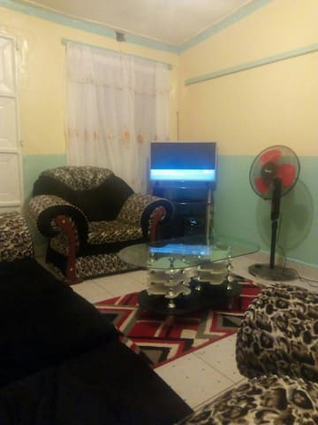 Entire furnished 2 bedroom apartment-Milimani