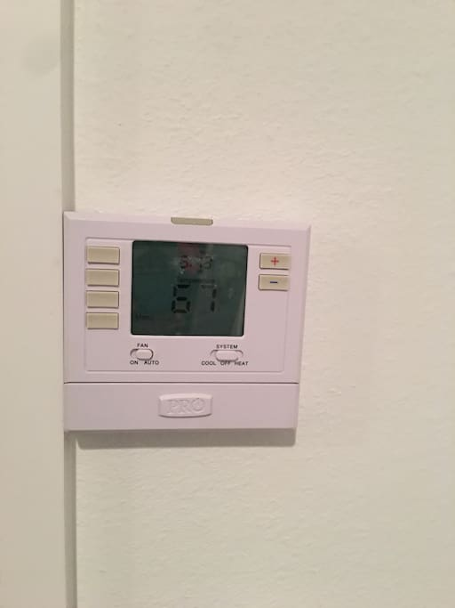 Room has its own personal thermostat