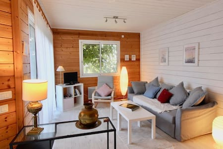 Douceur scandinave dans un pavillon en bois