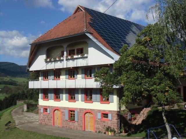 Ferien auf dem Fußbühlhof - Oberharmersbach - Apartment