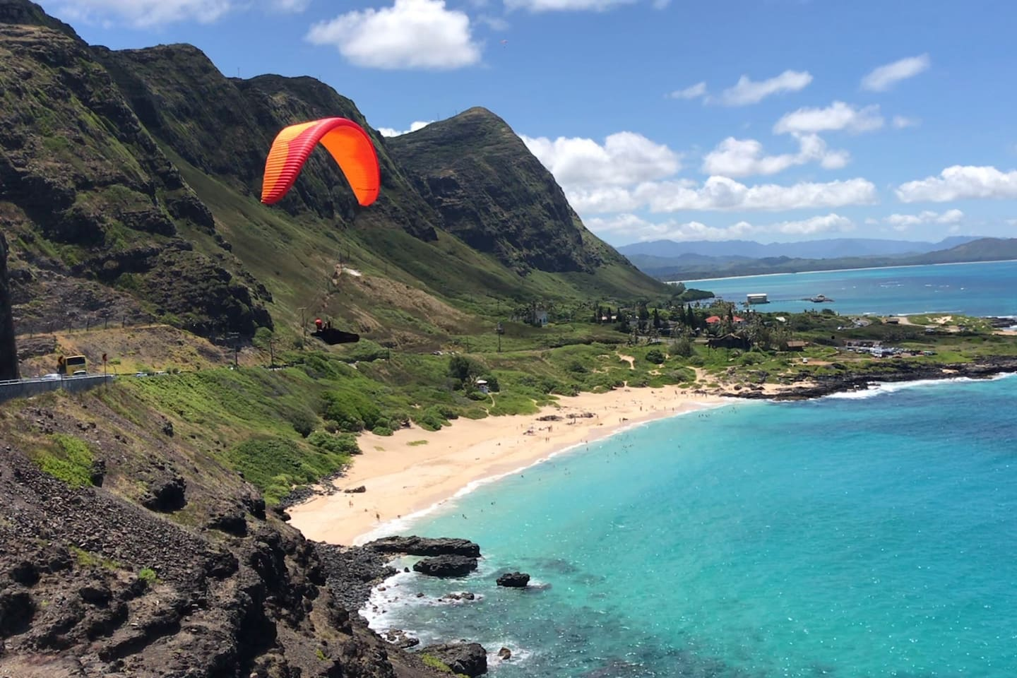 Soar with the paragliders