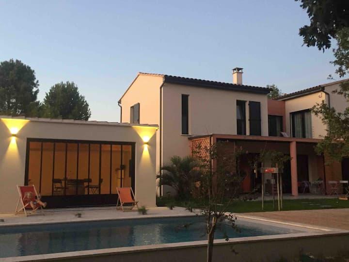 Le mas des Anges - villa avec piscine Vaucluse