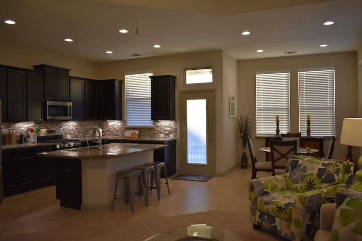 Private upscale 3BR town home.