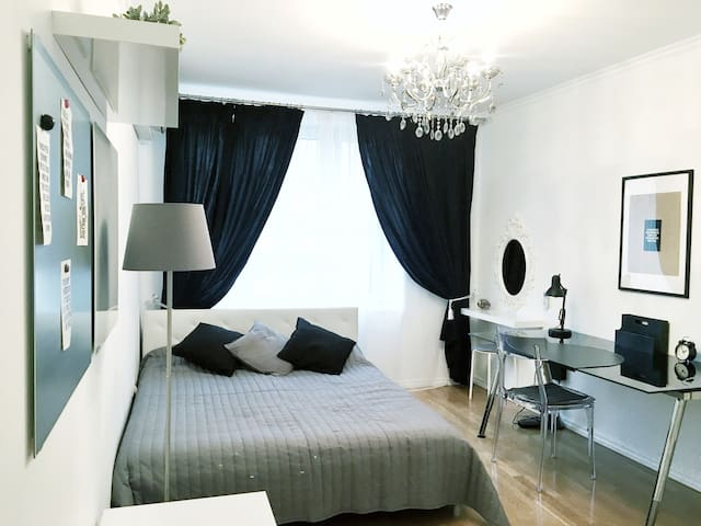 Big Designer Apartment, heart of Moscow