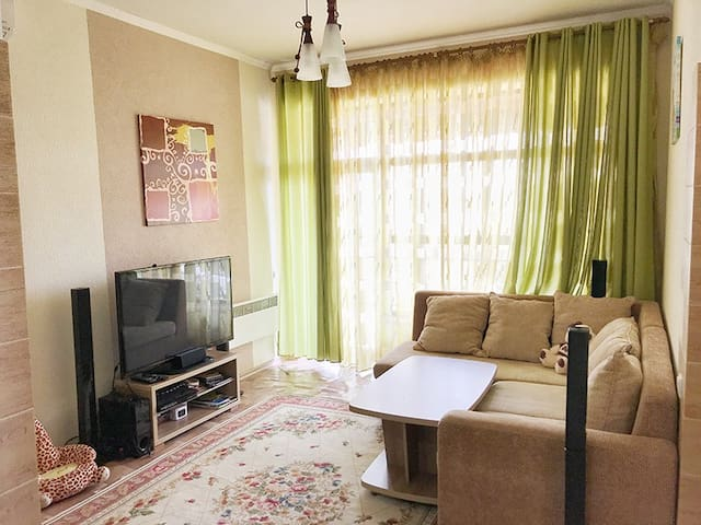 Cozy and relaxing apartment near Issyk-kul coast