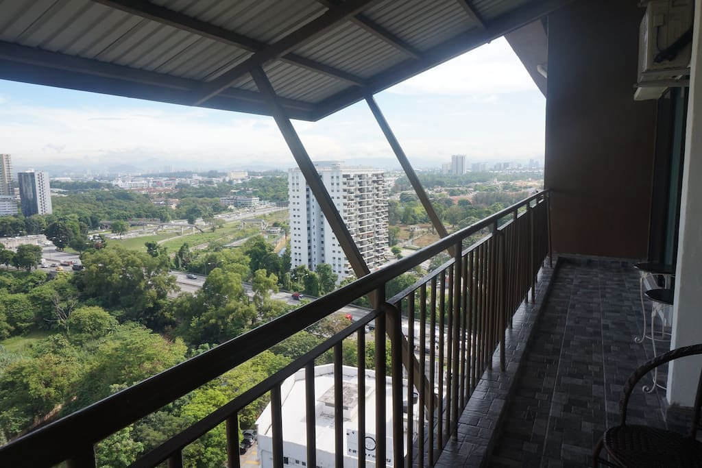 Viewing and Balcony