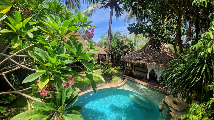 Luxury Bhuvana villa with private pool and garden