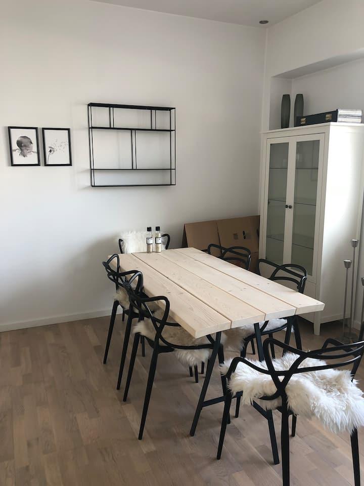 Sød, lys og rummelig lejlighed i Odense C!