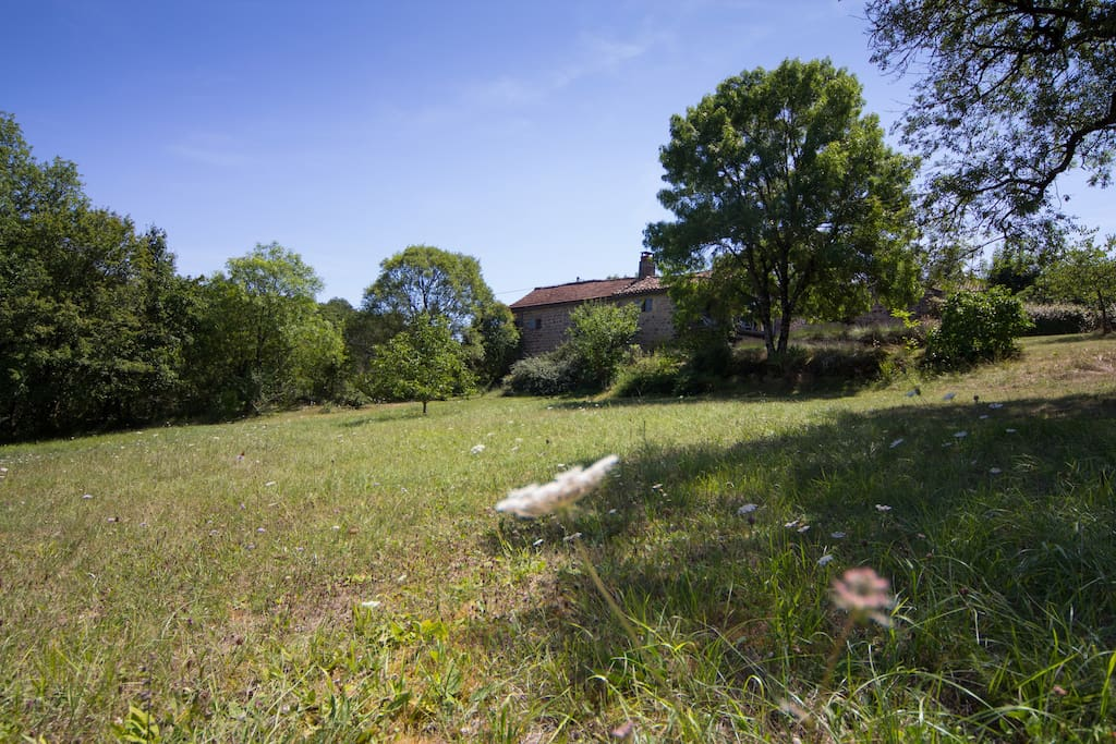 Both properties are set in around four acres of private gardens