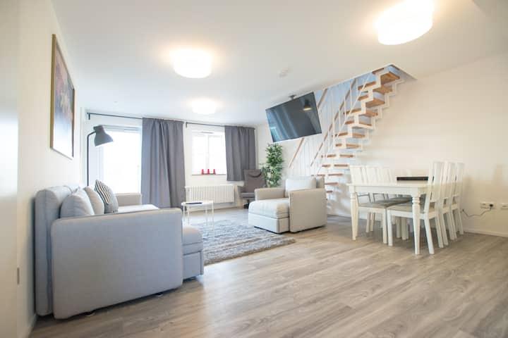 Junior Suite mit Dachterrasse und Whirlpool