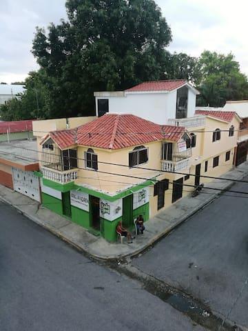 Una casa con vistas en Barahona