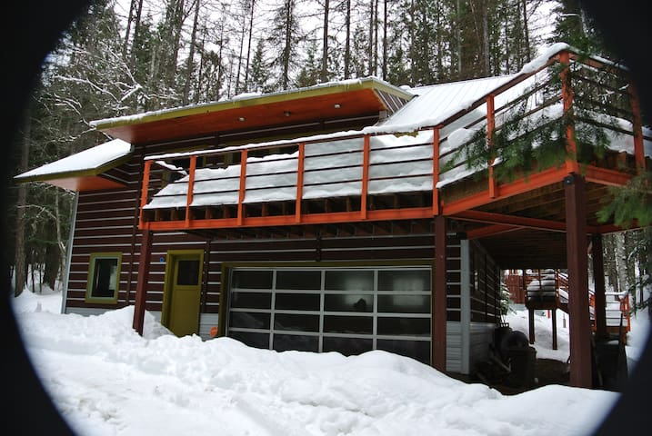 Custom Modern Cabin - Hope - House