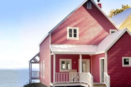Luxueux cottage sur le St-Laurent - Saint-Irénée - Chalé