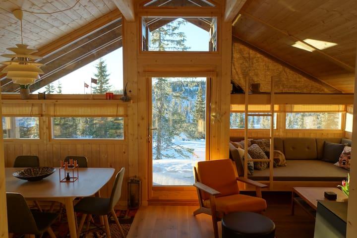 Hedda Hytter sports cabin near Sjusjøen skisenter - Ringsaker - Cabin