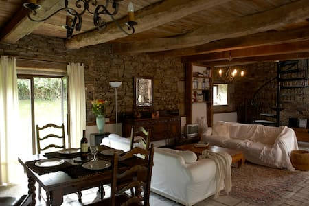 Converted 300 year old Barnhouse in Rural Brittany - Vieux-Viel - House