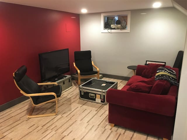 Quiet basement apartment, convenient to everywhere - Hyattsville - Apartamento