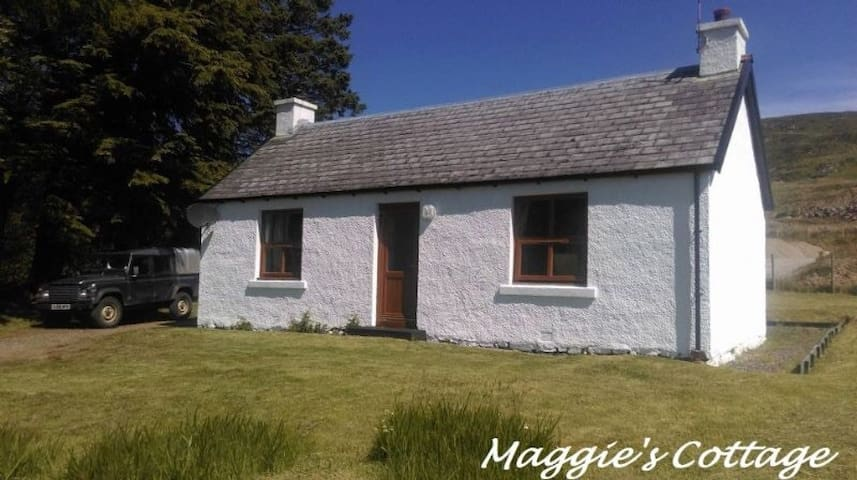 Maggies cottage, next to Ardnamurchan distillery.