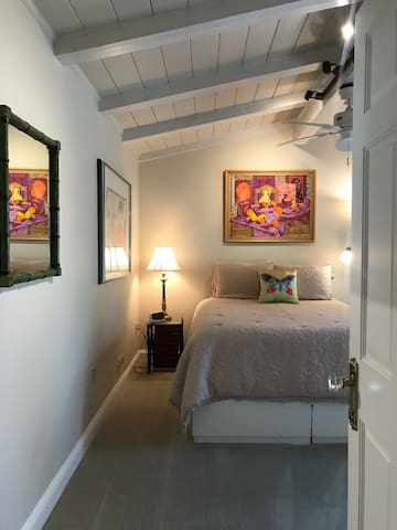 Private bedroom entrance.