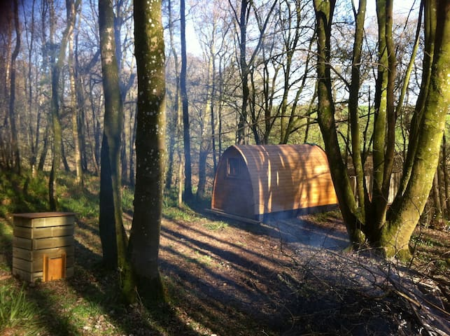 Broomhills Farm River Eco Pods - Cumbria - Houten huisje