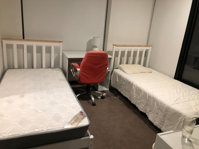 City center twosingle beds room