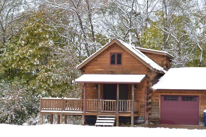 Unique Log Cabin