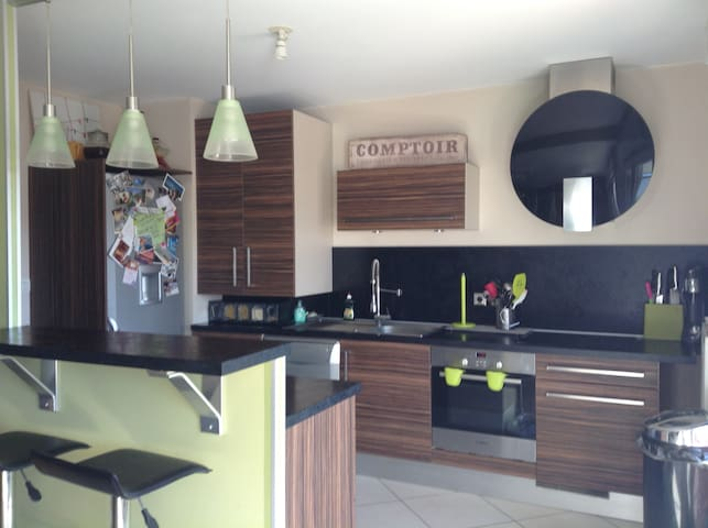 Chambre lumineuse dans l 'ouest lyonnais - Craponne - Apartment
