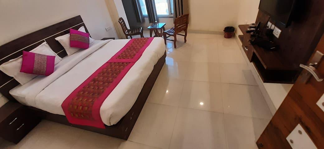 D Green Palace Near IGI Airport- Room with Balcony