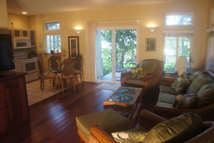 Kauai Cove Suite with kitchen in Poipu Beach