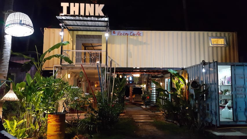 THINK & Retro Cafe Lipa Noi - Ko Samui - Bungalow