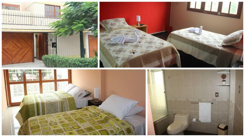 Cerca al aeropuerto y Centro Historico de Lima - Distrito de Lima - Bed & Breakfast