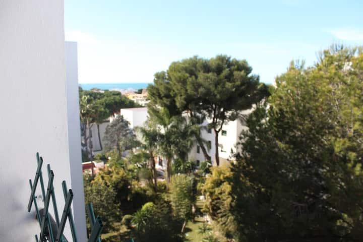 Apartment close to El Ancla beach