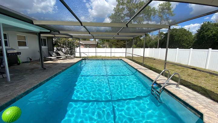 New Listing Specials! 3Bed/2Bath Heated Pool Home!