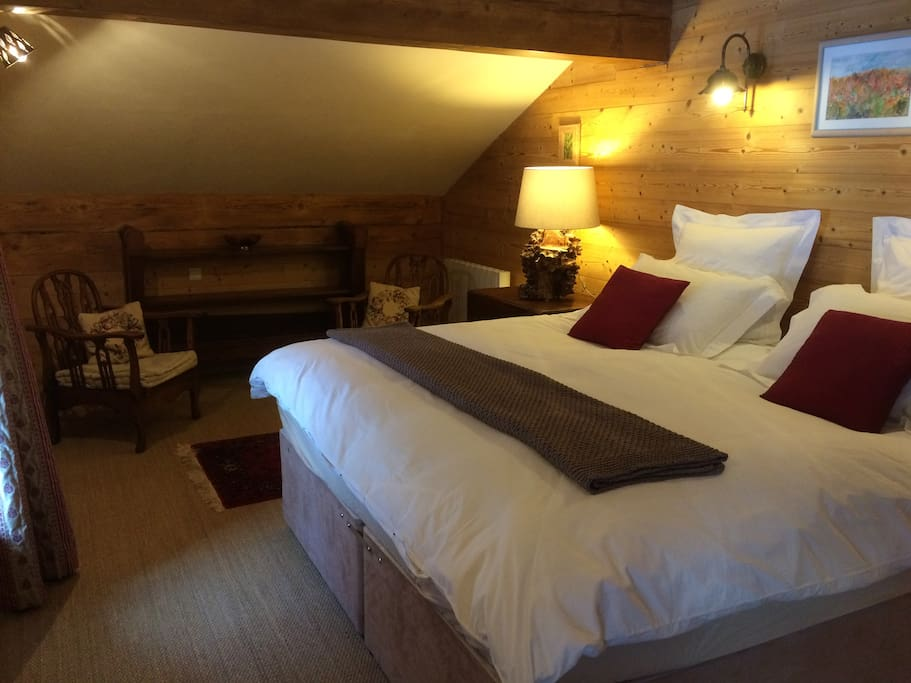 King double in cosy Vieux Chalet