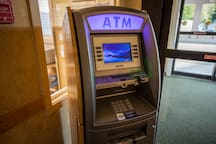 The Lobby has an ATM for your convenience!!