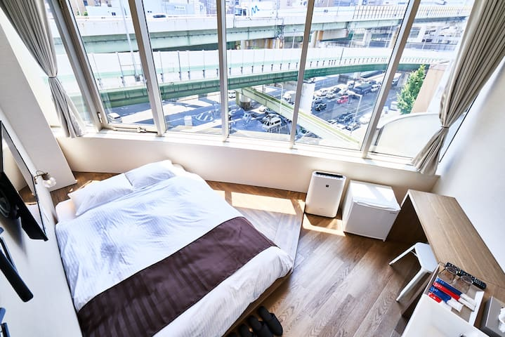 Double Room shared Bathroom in Central of Osaka