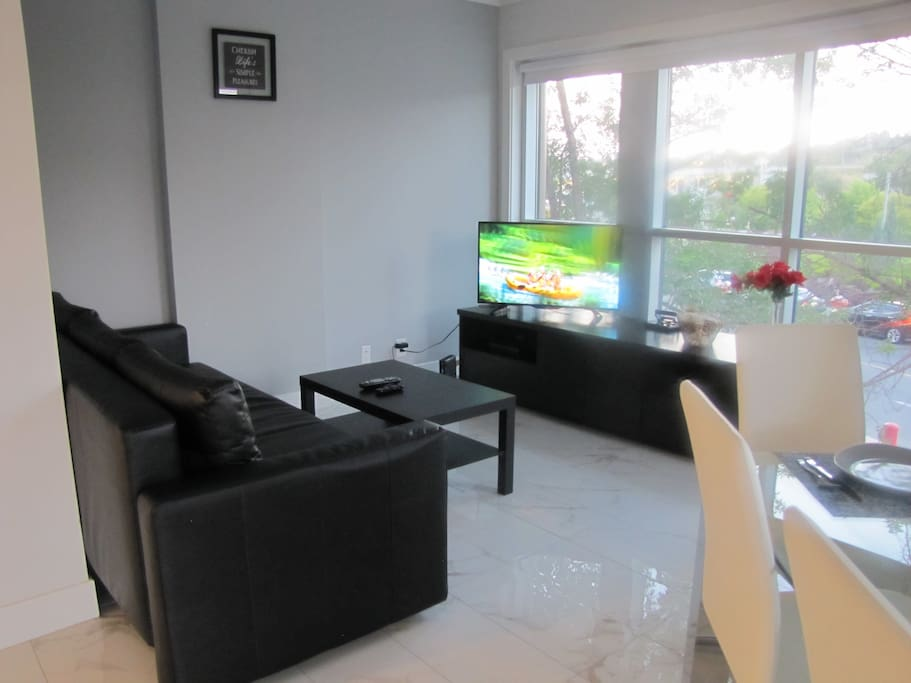 Living room - Smart TV with NETFLIX, U-Tube and lots more....