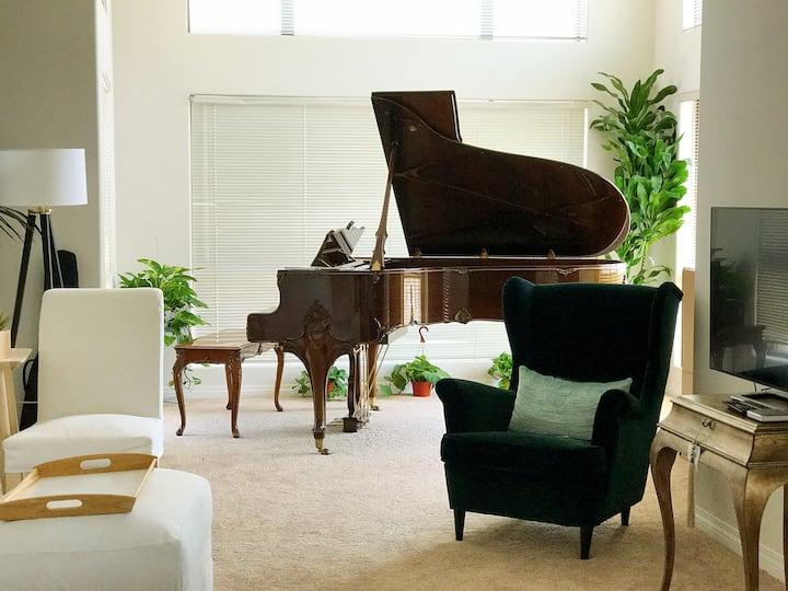 洛杉矶*熙臻行馆Da Vinci高级公寓两房两卫两厅家庭套间