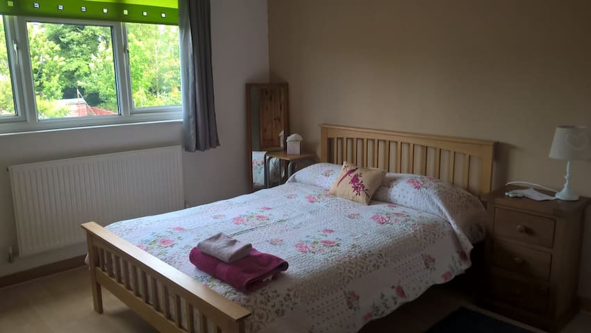Clean and comfy double room close to town centre.
